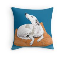 St Kilda East Is That Way Throw Pillow