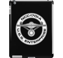 USS Enterprise Logo - Star Trek - NCC-1701-A (movie) iPad Case/Skin
