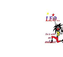 Leo - do it with an audience by Alison Wilkie
