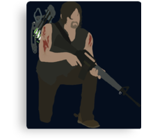 Daryl Dixon - The Walking Dead Canvas Print