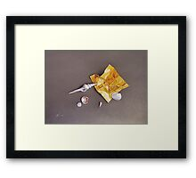 """""""Shells of the day"""" Framed Print"""