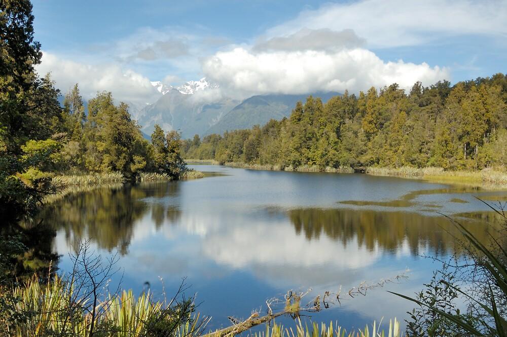 Lake Matherson NZ South Island by Chris Moysey