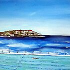 Bondi Icebergs ..or blue is my fav colour.. by gillsart