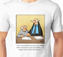 "Funny ""Spectickles"" Accounting Cartoon Unisex T-Shirt"