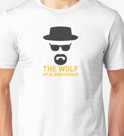 The Wolf Of ABQ Unisex T-Shirt