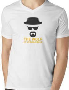 The Wolf Of ABQ Mens V-Neck T-Shirt