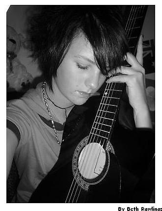 me and my guitar. 1 by elizabethrose05