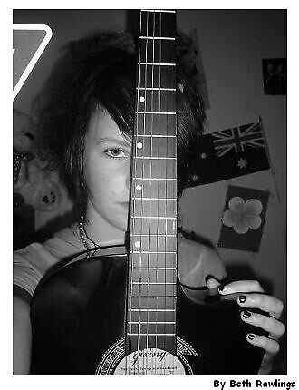 me and my guitar. 3 by elizabethrose05