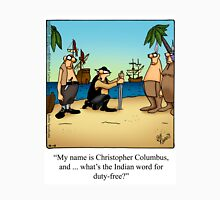 "Funny ""Spectickles"" Columbus Cartoon Unisex T-Shirt"