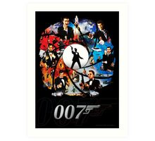 The Incredible World Of 007 Art Print