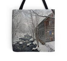 -The Old Mill On Stevens' Brook- Tote Bag