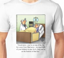 "Funny ""Spectickles"" Healthcare Cartoon Unisex T-Shirt"