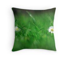 Green World v2 Throw Pillow