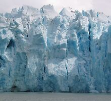 Dawes Glacier by John Clarke