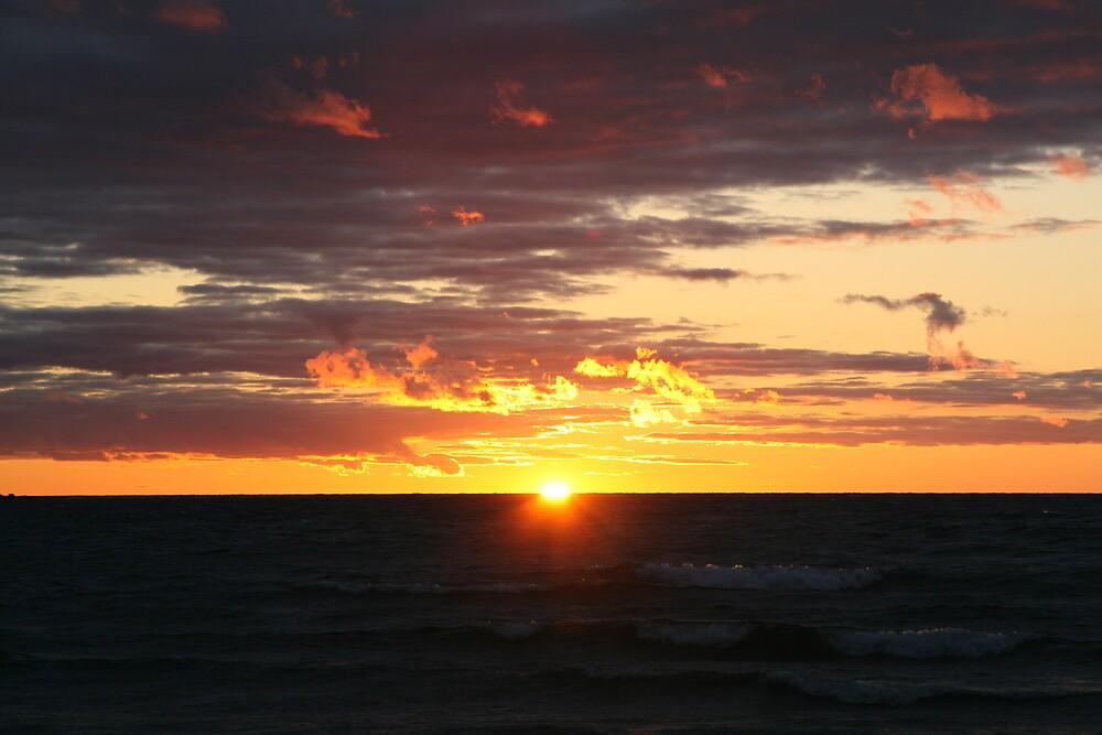 Southampton Sunset by John Clarke