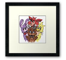 Five Nights at Freddys! Framed Print