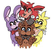Five Nights at Freddys! Photographic Print
