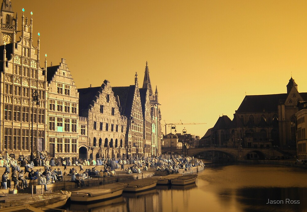 Ghent, infrared by Jason Ross