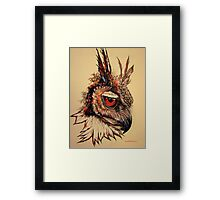Nocturnal By Nature Framed Print