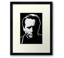 The Prisoner - Number Six - Patrick McGoohan Framed Print