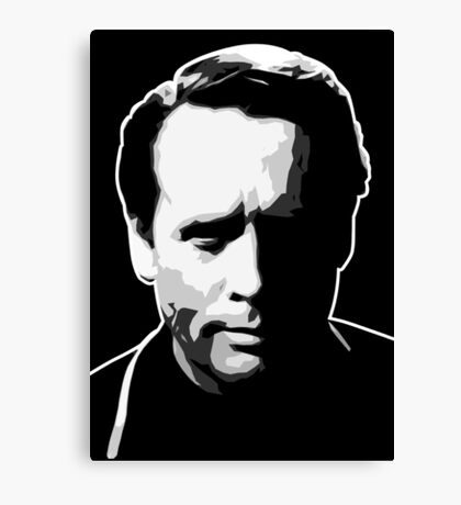 The Prisoner - Number Six - Patrick McGoohan Canvas Print