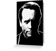 The Prisoner - Number Six - Patrick McGoohan Greeting Card