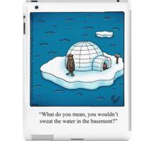 """Funny """"Spectickles"""" Igloo Cartoon iPad Case/Skin"""