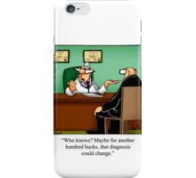 "Funny ""Spectickles"" Healthcare Cartoon iPhone Case/Skin"