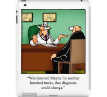 "Funny ""Spectickles"" Healthcare Cartoon iPad Case/Skin"