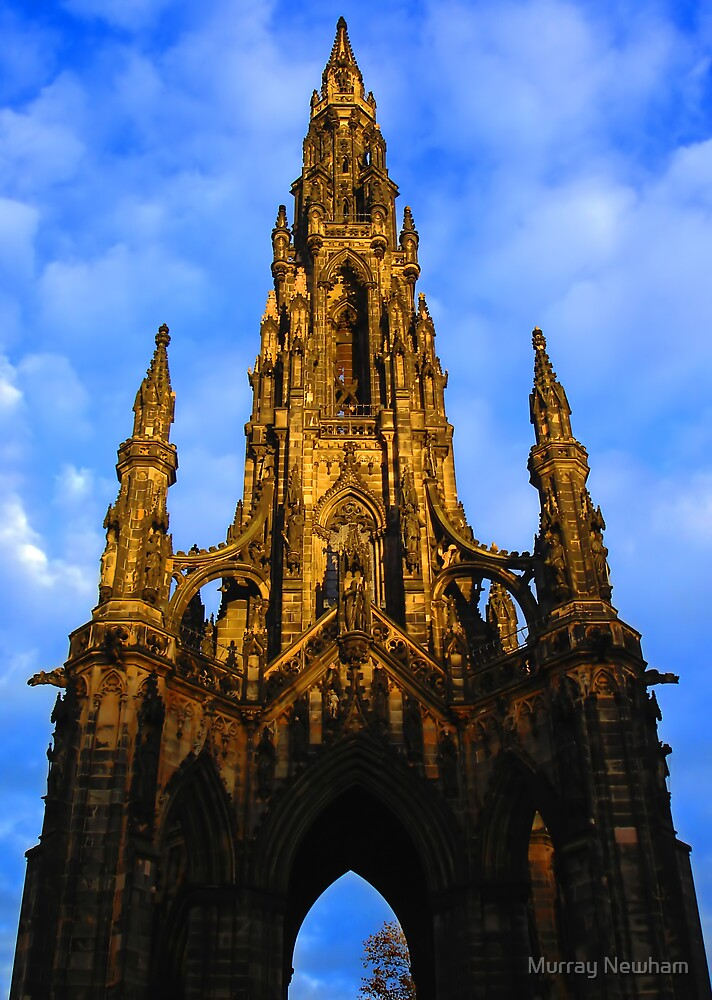 The Scott Monument - Edinburgh by Murray Newham