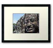 The Faces of Avalokitesvara Framed Print