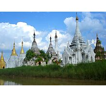Temples of Inle Photographic Print
