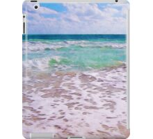 Atlantic Ocean On Florida Beach iPad Case/Skin