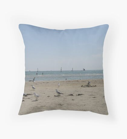 Re-lax-ation Throw Pillow