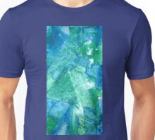 Set Free Green Abstract Painting Unisex T-Shirt