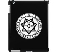 Aleister Crowley Seal - Occult - Thelema iPad Case/Skin