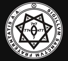 Aleister Crowley Seal - Occult - Thelema by createdezign