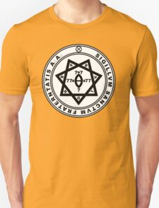 Aleister Crowley Seal - Occult - Thelema Unisex T-Shirt