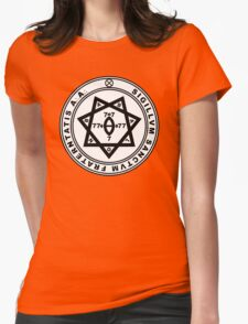 Aleister Crowley Seal - Occult - Thelema Womens Fitted T-Shirt