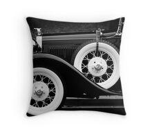 Vintage Car - Circa 1930s Throw Pillow