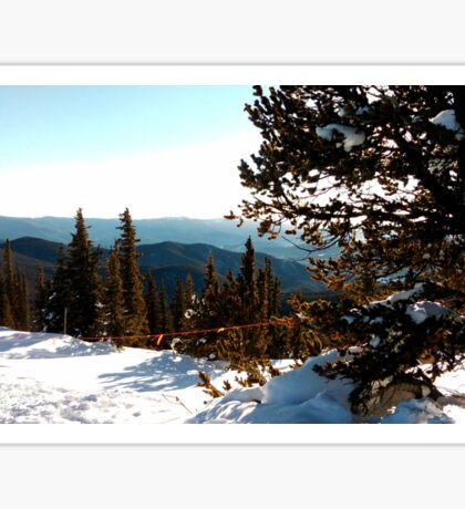 Leadville Mountains Sticker