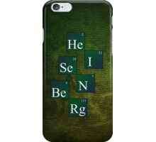 HeISeNBeRg (green) iPhone Case/Skin