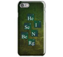 HeISeNBeRg (green) iPhone Case/Skin