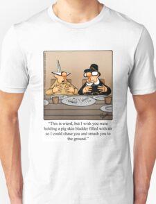 """Funny """"Spectickles"""" Thanksgiving Football Cartoon T-Shirt"""