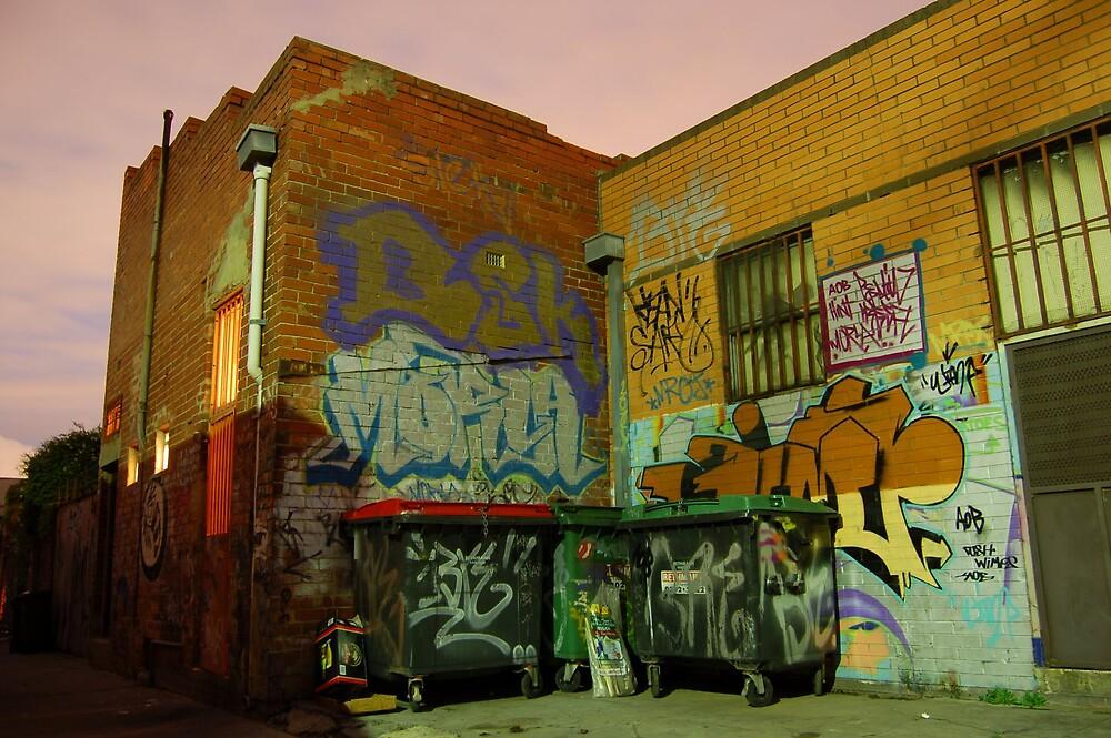 Graffiti Alley 1 by Ben Board