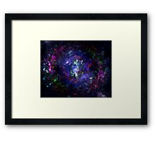 Space-Paint Framed Print