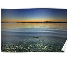 Lake Macquarie at Dusk Poster