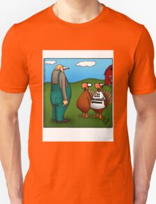 "Funny ""Spectickles"" Thanksgiving Turkey Cartoon T-Shirt"