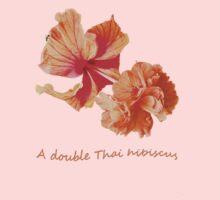 A double Thai hibiscus Kids Clothes
