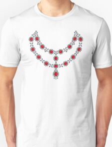 Renaissance Ruby Necklace Unisex T-Shirt